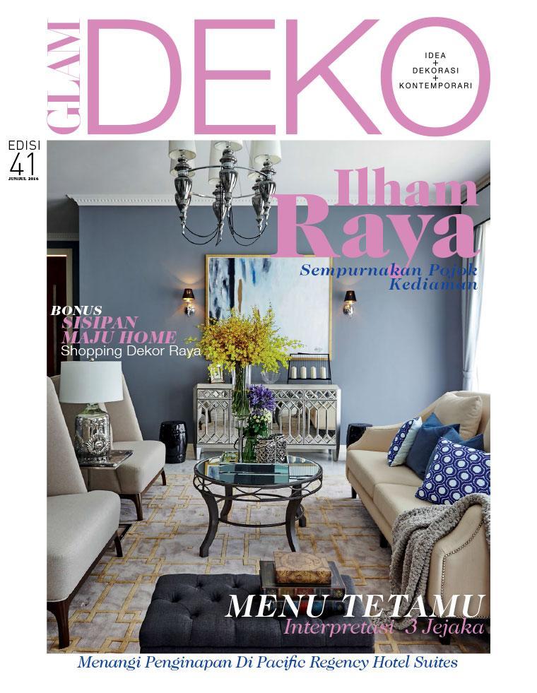 glam deko magazine june july 2016 gramedia digital