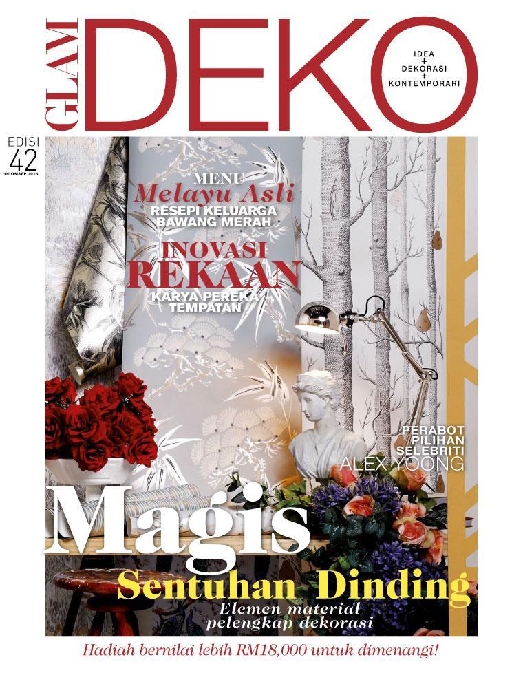 Deko Magazine glam deko magazine august september 2016 gramedia digital