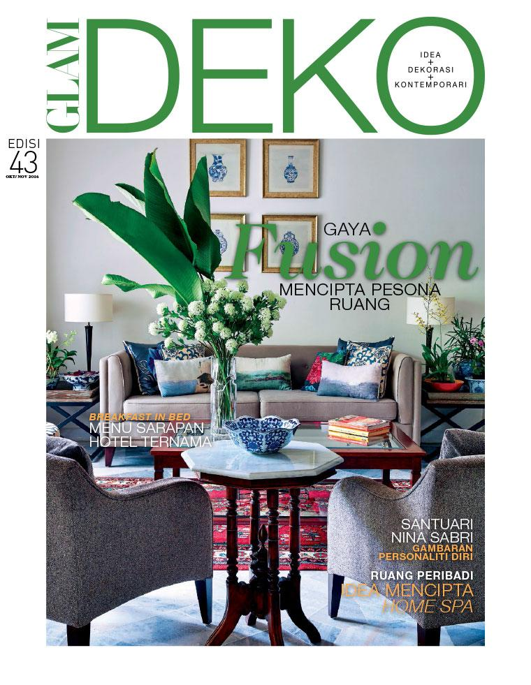 Glam Deko Magazine October November 2016 Gramedia Digital