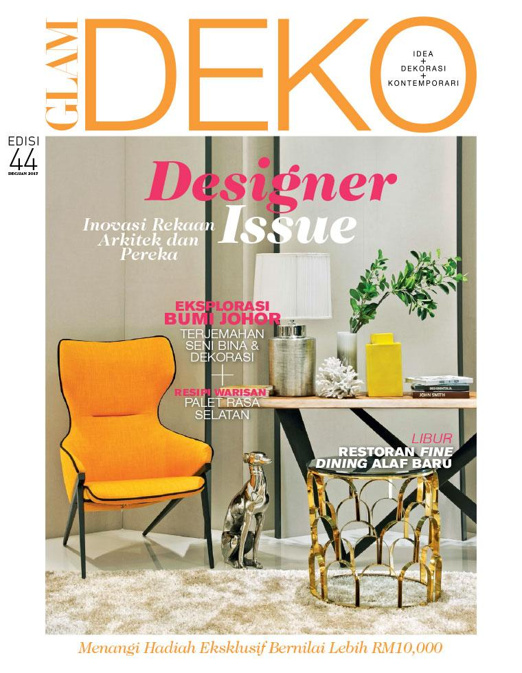 Deko Magazine glam deko magazine december january 2017 gramedia digital
