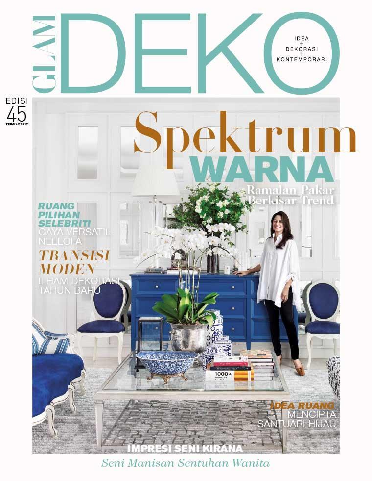 Deko Magazine glam deko magazine february march 2017 gramedia digital