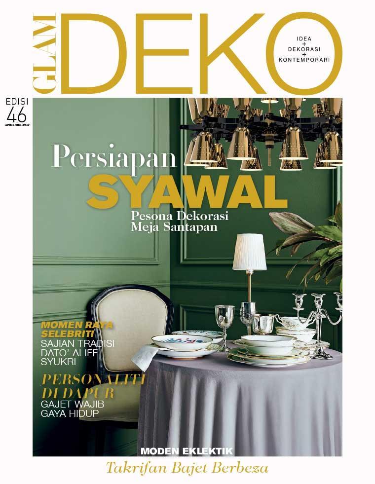 Deko Magazine glam deko magazine april 2017 gramedia digital