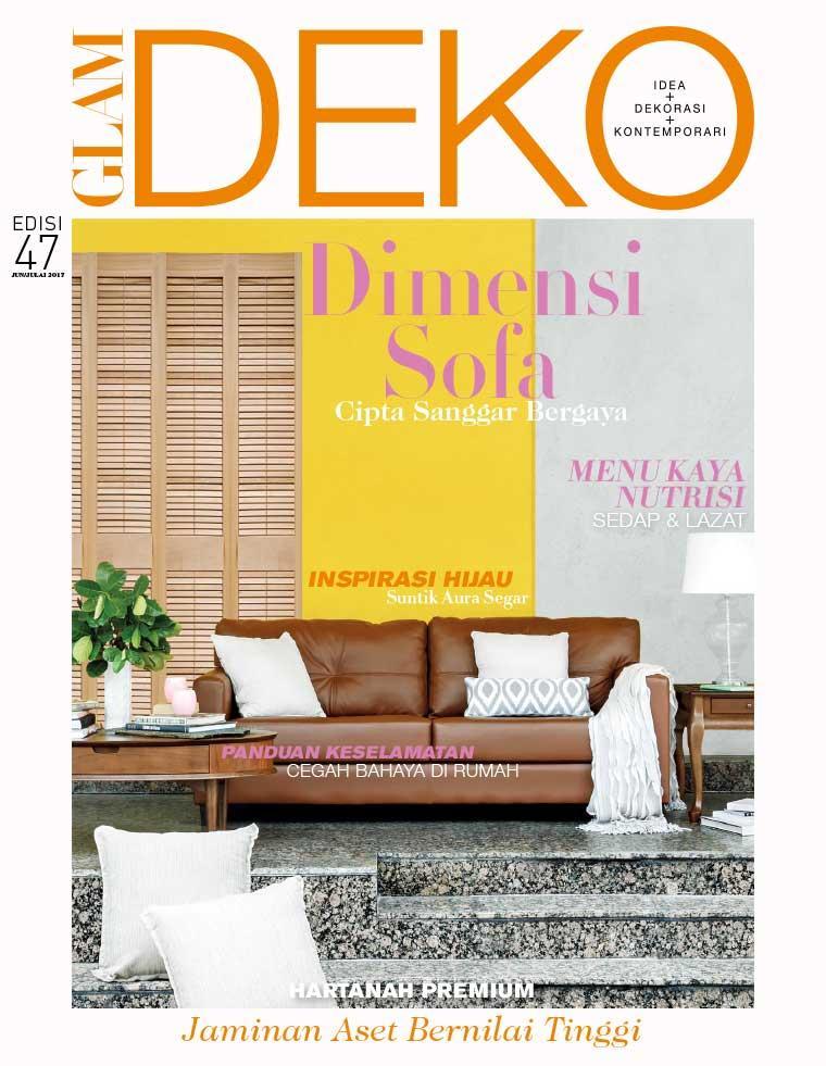Deko Magazine glam deko magazine june july 2017 gramedia digital