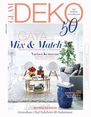 GLAM DEKO Magazine Cover December–January 2018