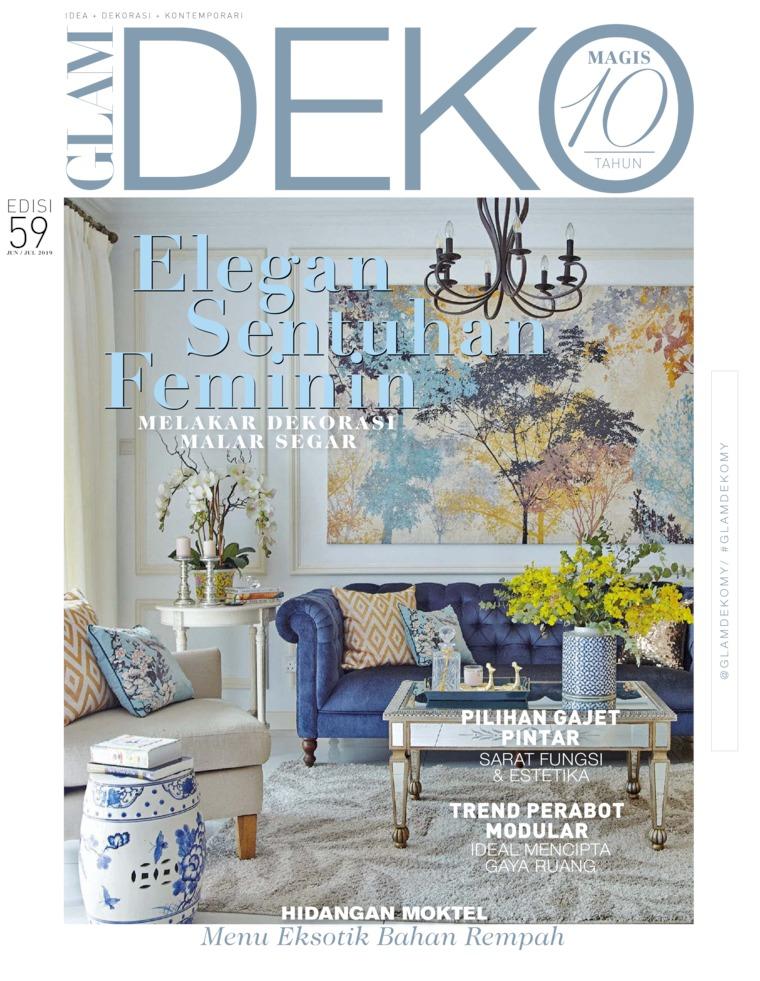 Majalah Digital GLAM DEKO Juni-Juli 2019