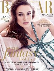 Harper's BAZAAR Malaysia Magazine Cover December 2016