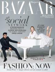 Harper's BAZAAR Malaysia Magazine Cover September 2017