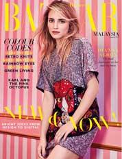 Harper's BAZAAR Malaysia Magazine Cover January 2018