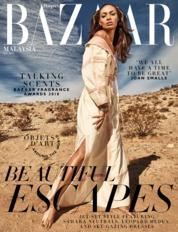 Cover Majalah Harper's BAZAAR Malaysia Juni 2018
