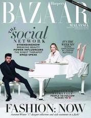 Harper's BAZAAR Malaysia Magazine Cover September 2018