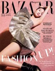Cover Majalah Harper's BAZAAR Malaysia Maret 2019