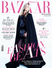 Harper's BAZAAR Malaysia Magazine Cover September 2019