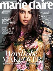 Cover Majalah marie Claire Malaysia Mei 2017