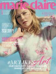 Cover Majalah marie Claire Malaysia Agustus 2017