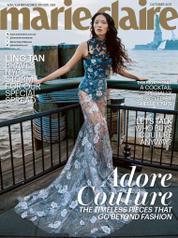 Cover Majalah marie Claire Malaysia Oktober 2017