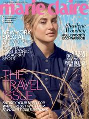 Cover Majalah marie Claire Malaysia November 2017