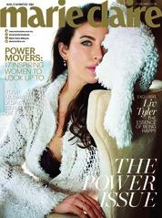 Cover Majalah marie Claire Malaysia Februari 2018
