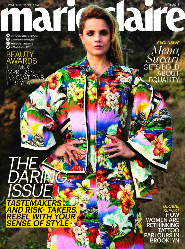 Majalah Digital marie Claire Malaysia Mei 2018