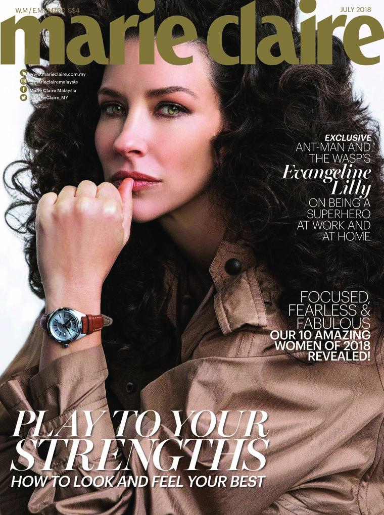 Majalah Digital marie Claire Malaysia Juli 2018