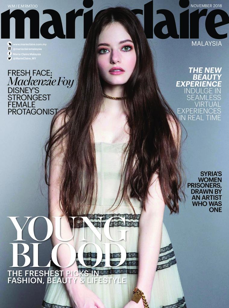 Majalah Digital marie Claire Malaysia November 2018