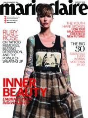 Cover Majalah marie Claire Malaysia Agustus 2018