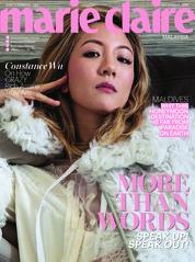 Cover Majalah marie Claire Malaysia September 2018