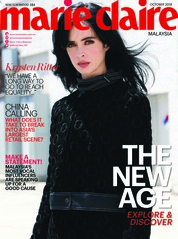 Cover Majalah marie Claire Malaysia