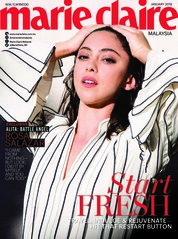 Marie Claire Malaysia Magazine Cover January 2019