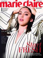 Cover Majalah marie Claire Malaysia Januari 2019