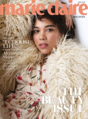 Cover Majalah marie Claire Malaysia Juni 2019