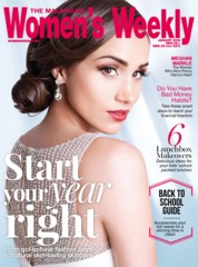 Cover Majalah Women's Weekly Malaysia Januari 2018