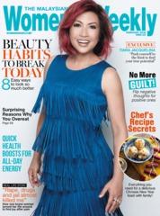 Cover Majalah Women's Weekly Malaysia Februari 2018