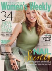 Cover Majalah Women's Weekly Malaysia Oktober 2018