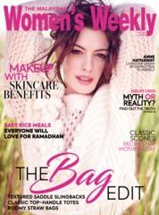 Cover Majalah Women's Weekly Malaysia Mei 2019