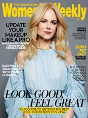 Cover Majalah Women's Weekly Malaysia Juni 2019