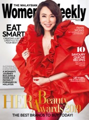 Women's Weekly Malaysia Magazine Cover August 2019