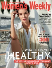 Women's Weekly Malaysia Magazine Cover
