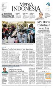 Cover Media Indonesia 14 Maret 2018