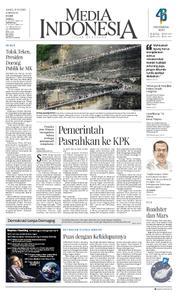 Cover Media Indonesia 15 Maret 2018
