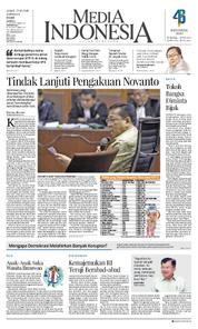 Cover Media Indonesia 23 Maret 2018