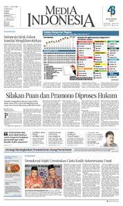 Cover Media Indonesia 24 Maret 2018
