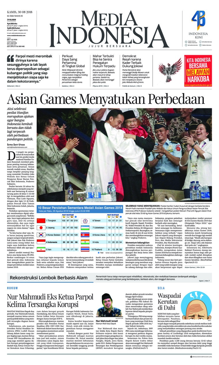 Media Indonesia Newspaper 30 August 2018 Gramedia Digital Bali Photo Tour 17 19 Agustus