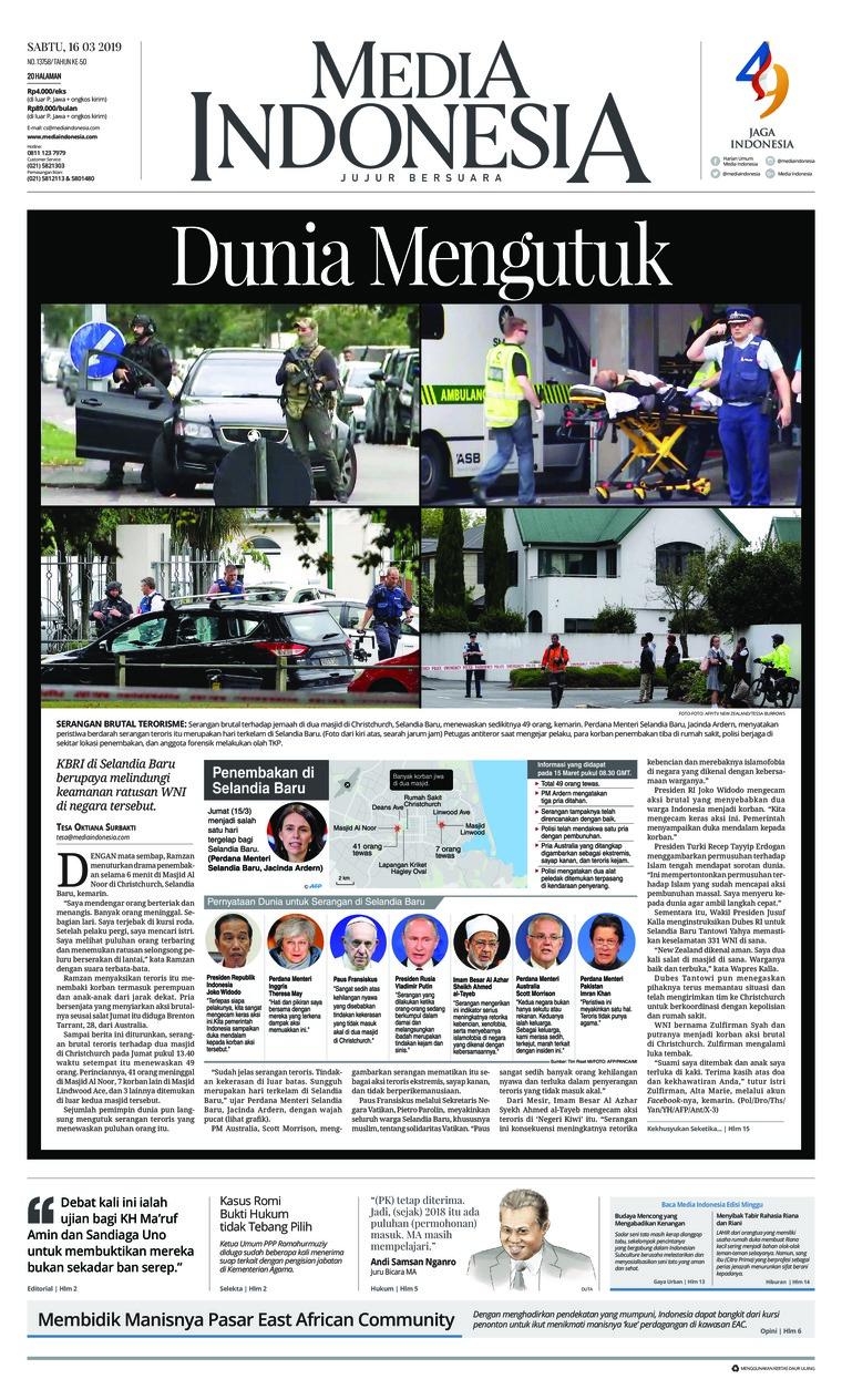 Koran Digital Media Indonesia 16 Maret 2019