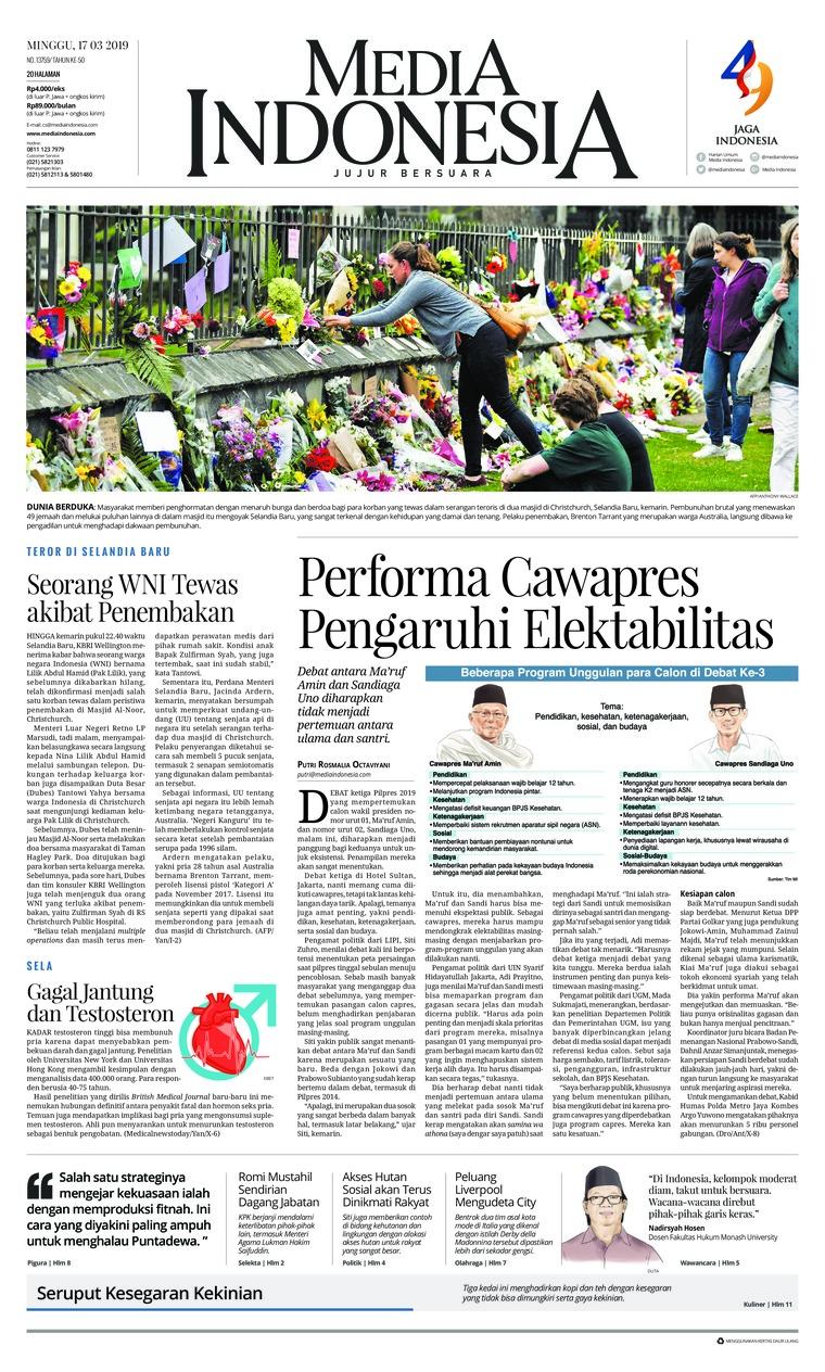 Media Indonesia Digital Newspaper 17 March 2019