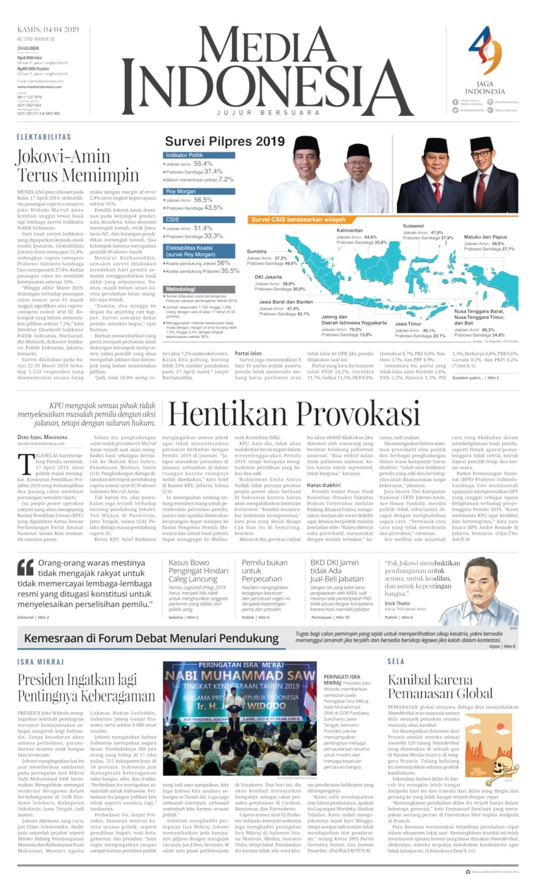 Media Indonesia Digital Newspaper 04 April 2019