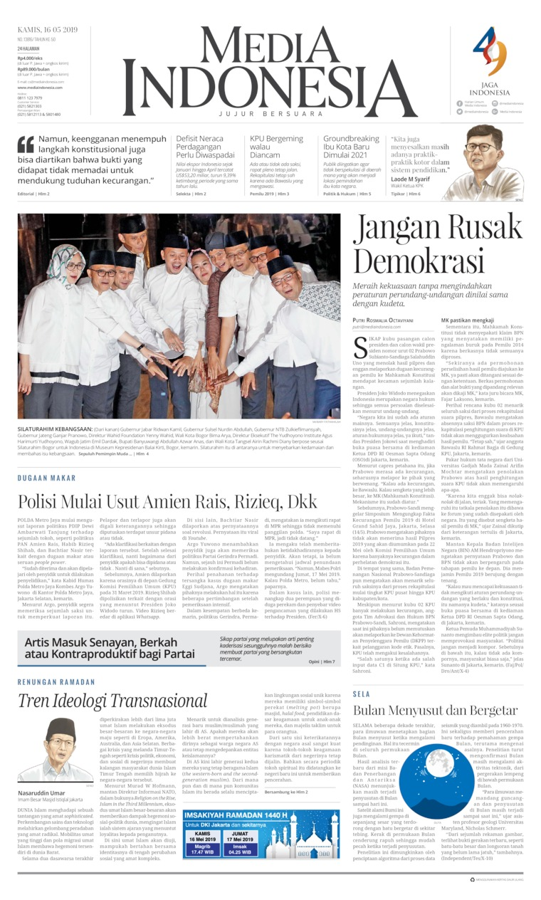 Koran Digital Media Indonesia 16 Mei 2019