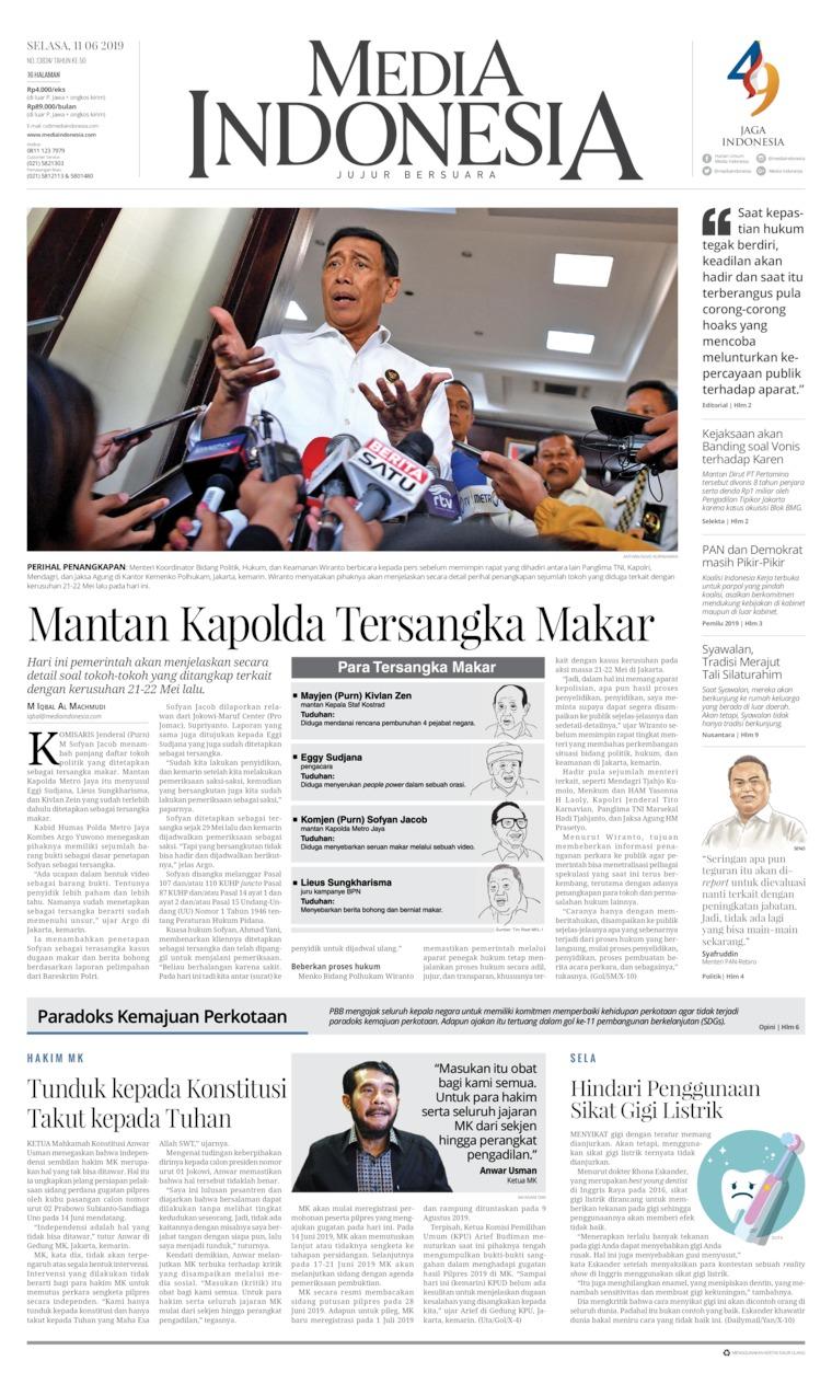 Koran Digital Media Indonesia 11 Juni 2019