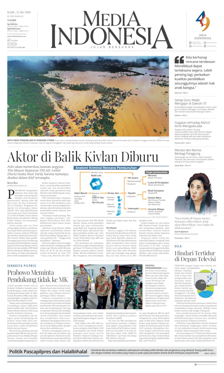 Koran Digital Media Indonesia 12 Juni 2019