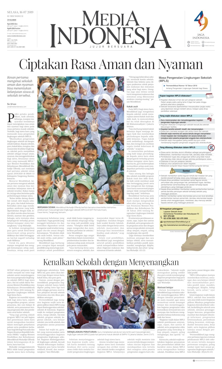 Koran Digital Media Indonesia 16 Juli 2019
