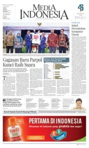 Cover Media Indonesia 19 Februari 2018